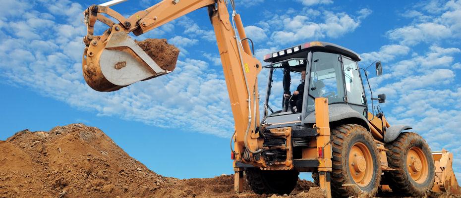 koparko-ładowarka - załadunek ziemi, kruszywa, rozbiórka, wyburzanie, równanie